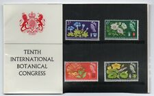 GB 1964 Botanical Congress Presentation Pack VGC stamps