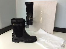 Jimmy Choo Dante Womens Ankle Boots, Uk 3 Eu36 Black Leather, Rrp £695