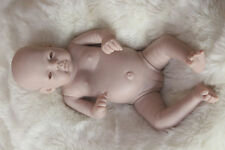 "Unpainted Blank Doll Kit Full Body Vinyl Silicone GIRL 20"" Reborn Doll Kits"
