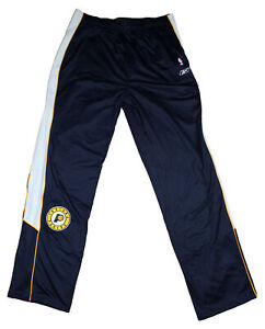 Reebok Indiana Pacers NBA Men's Big and Tall Practice Breakaway Pants, Navy