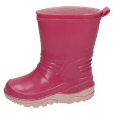 Calzado de niña botas de agua sintético