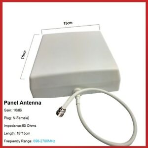 Panel Antenna with mounting kit 698-2700MHz for Booster Indoor/Outdoor antenna