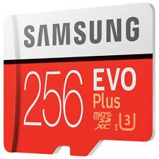 Samsung 256GB EVO Plus Micro SDHC Memory Card Class 10 U3 100M/s for Smartphones