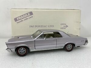 1/24 Danbury Mint 1965 Pontiac GTO Convertible Iris Mist AWESOME!