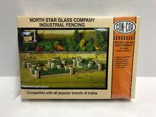North Star Glass Company Industrial Fencing CON-COR HO scale structure kit ~ new