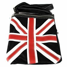 Black Union Jack Design Small Shoulder Bag