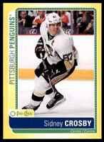 2013-14 OPC Stickers Sidney Crosby Penguins #S-SC *Noles2148* Cs 10=Fs