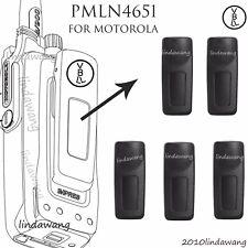 5x Belt Clip Pmln4651A for Motorola Apx4000 Apx3000 Apx1000 Portable Radio