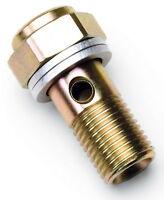 "Russell 640700 Fuel Pressure Take Off Banjo Bolt M12 x 1.25 w/ 1/8"" Gauge Port"