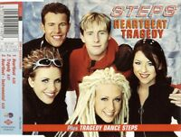 STEPS HEARTBEAT / TRAGEDY 3 TRACK CD SINGLE FREE P&P PWL