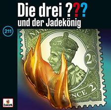 Die drei ??? und der Jadekönig Hörbuch (CD, 2021)