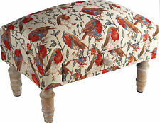 More details for robin bird design foot rest stool