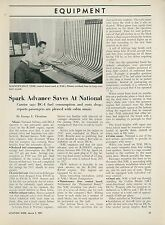 1951 Aviation Article National Airlines Saving Costs Douglas DC-4 Aircraft  Fuel