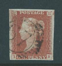 Queen Victoria Stamp SG8 1841 Penny Red Brown Imperforate r5938