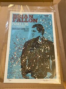 Brian Fallon Gaslight Anthem Painkillers Live from Home 4/1/21 Poster