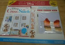 Hachette Disney Cross Stitch Partwork magazine Collection Issue #1 Tigger
