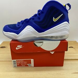 NEW sz 10.5 Nike Air Penny V 'Blue Chips' Blue White 537331-402