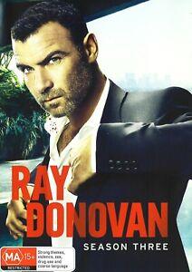 396A NEW SEALED RAY DONOVAN SEASON 3 DVD Region 4
