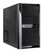 CiT Templar mATX PC Case 500W Silent PSU Black Micro ATX Midi Tower USB SATA NEW