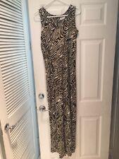 Calvin Klein Jumper Gorgeous Size 8 - Zebra Brown Beige Colors