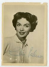 Vintage Autographed Photo Lilli Palmer German actress and writer