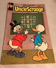 Walt Disney Uncle Scrooge #186 July 1981 Whitman Variant