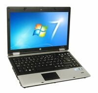 "HP 6730b CORE DUO @ 2,26 ghz!!  2 GB ram!! 160 Hd  15.4"" lcd Wifi WINDOWS 7 COM1"