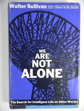 We Are Not Alone by Walter Sullivan 1964 HC DJ Aliens UFO's