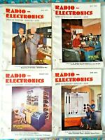 Lot of 4 Radio Electronic Magazines May - August 1952 Issues