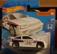 Hot Wheels 2020 HW #123 1988 '88 Honda CRX CR-X Coupe White Race #20 JDM JTC