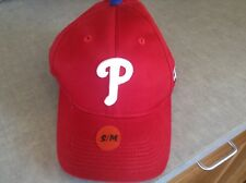 PHILLIES * YOUTH BASEBALL HAT * TEAM MLB * OFFICIAL LICENSEE OF MLB * NWT *S/M