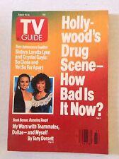 Tv Guide Magazine Hollywood's Drug Scene August 19-25 1989 021717RH