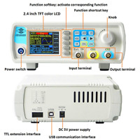 24-40MHz JDS-6600 Dual-channel DDS Function Waveform Signal Generator Counter HF