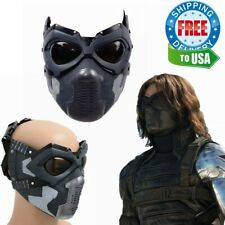Winter Soldier Mask Captain America 3 Civil War Bucky Cosplay Mask Costume Prop