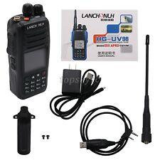 Handheld Walkie Talkie Two Way Radio VHF UHF APRS Positioning w/ Flashlight UV98