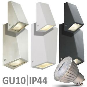 Außenleuchte LED Außenlampe Edelstahl Wandleuchte Wandlampe UP DOWN Leuchte 560