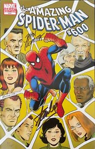 AMAZING SPIDER-MAN #600 JOHN ROMITA VARIANT SIGNED STAN LEE & JOHN ROMITA W/COA.