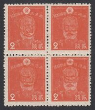 RYUKYU-JAPAN, 1947. Miyako 3X2a Block, Mint **
