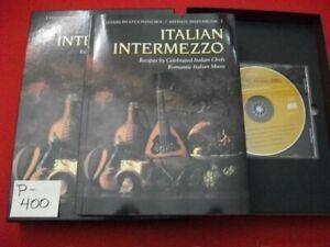 SHARON O'CONNOR'S MENUS & MUSIC-ITALIAN INTERMEZZO-W/ ITALIAN CHEFS & MUSIC EXC.