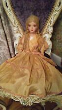 Super Rare Antique Sleep Eyed Boudoir Doll