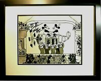 Signed Bret Iwan Voice Mickey Disney Sericel Cel Mail Pilot Custom NEW Frame