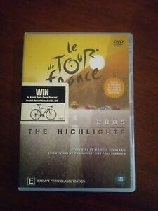 Le Tour De France  - 2005 The Highlights (DVD, 2005, 2-Disc Set)