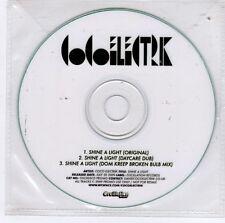 (GJ734) Coco Electrik, Shine A Light - 2009 DJ CD