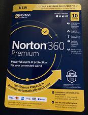 Norton 360 Premium 10 Devices 75GB PC Cloud Storage 21392060 037648688017