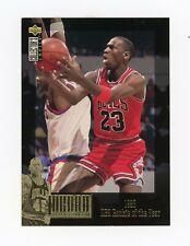 MICHAEL JORDAN 1995-96 Collectors Choice The Collection #JC1 Chicago Bulls JMR