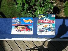Lot Of 2 Hot Wheels McDonalds Semi & Trailer~ Johnny Lightning Monopoly Truck