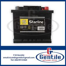 AUTOBATTERIE STARLINE AUTOBIANCHI Y10 1.1 4WD 52AH 470A POSITIV RECHT