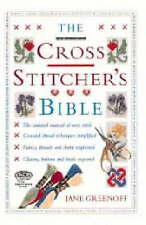 The Cross Stitcher's Bible by Jane Greenoff (Hardback, 2000) HALF PRICE