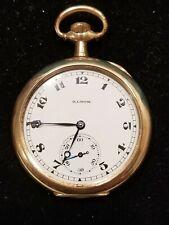 Illinois 404 Pocket Watch 17 Jewel Size 12S, Running