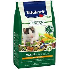 Vitakraft Emotion BEAUTY all ages , Rata - 600g - Comida Roedores